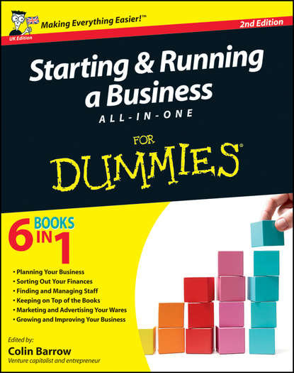 Colin Barrow Starting and Running a Business All-in-One For Dummies eric tyson starting a business all in one for dummies