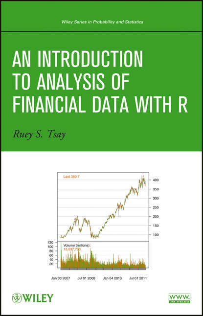 Ruey Tsay S. An Introduction to Analysis of Financial Data with R michael r chernick an introduction to bootstrap methods with applications to r