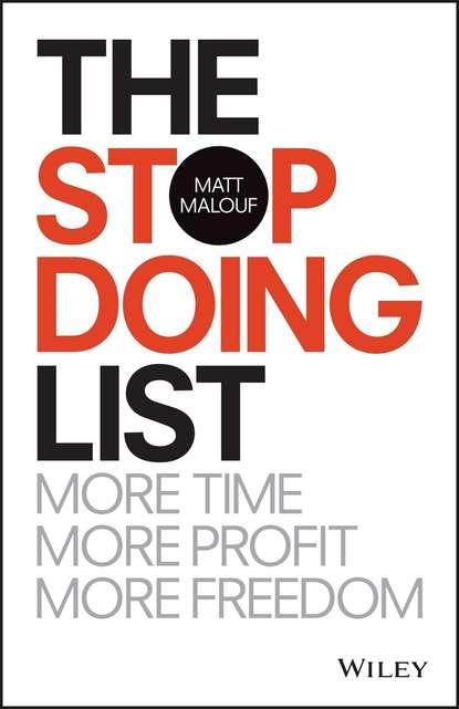 Matt Malouf The Stop Doing List