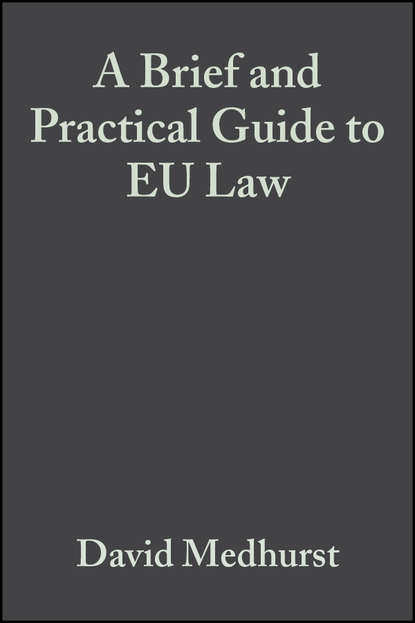 Группа авторов A Brief and Practical Guide to EU Law dennis patterson a companion to european union law and international law