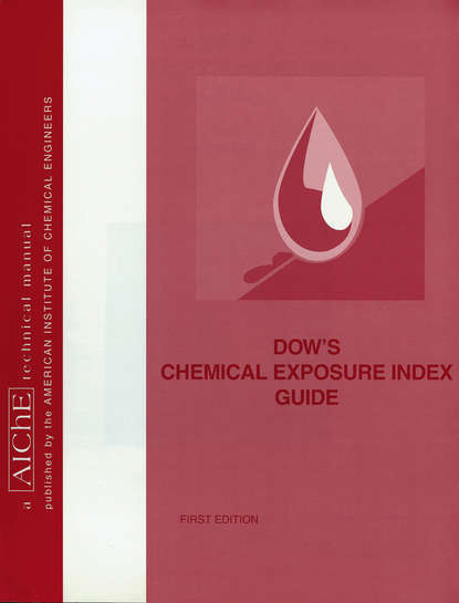 American Institute of Chemical Engineers (AIChE) Dow's Chemical Exposure Index Guide sandip k lahiri profit maximization techniques for operating chemical plants