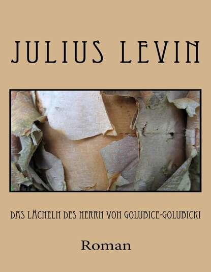 Julius Levin Das Lächeln des Herrn von Golubice-Golubicki