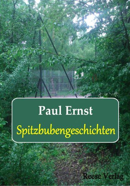 Paul Ernst Spitzbubengeschichten paul ernst grundlagen der neuen gesellschaft