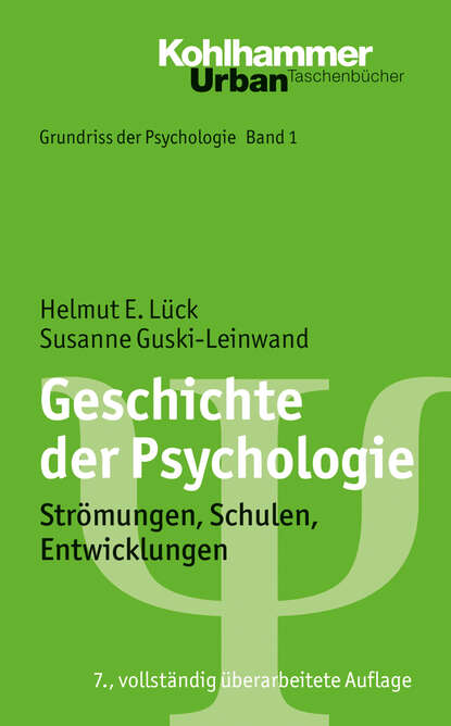 Helmut E. Lück Geschichte der Psychologie helmut werner geschichte der anorganischen chemie