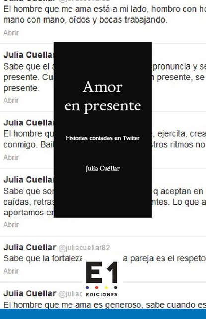 Julia Cuéllar Amor en presente недорого