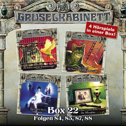 Hanns Heinz Ewers Gruselkabinett, Box 22: Folgen 84, 85, 87, 88 недорого