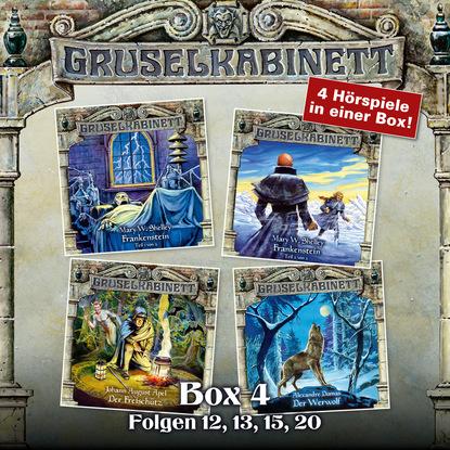 Александр Дюма Gruselkabinett, Box 4: Folgen 12, 13, 15, 20 недорого