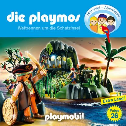 Simon X. Rost Die Playmos - Das Original Playmobil Hörspiel, Folge 26: Wettrennen um die Schatzinsel недорого