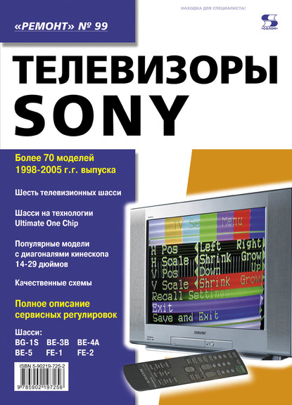 Группа авторов Телевизоры SONY
