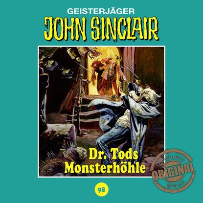 Фото - Jason Dark John Sinclair, Tonstudio Braun, Folge 98: Dr. Tods Monsterhöhle (Ungekürzt) dan shocker macabros classics folge 6 der horror trip