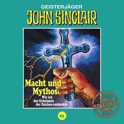 Jason Dark John Sinclair, Tonstudio Braun, Folge 63: Macht und Mythos. Folge 3 von 3 jason dark john sinclair tonstudio braun folge 47 disco dracula