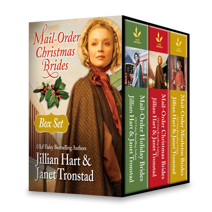 Jillian Hart Mail-Order Christmas Brides Boxed Set jillian hart patchwork bride