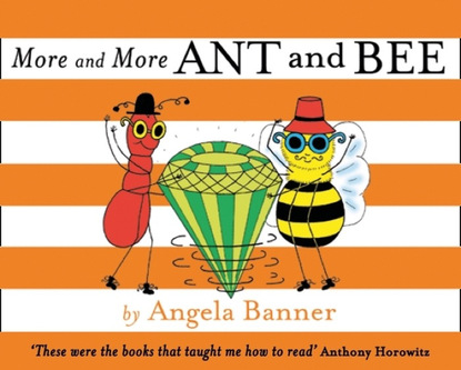Angela Banner More and More Ant and Bee ant middleton first man in leading from the front
