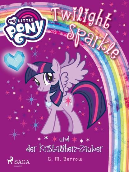 G.M. Berrow My Little Pony - Twilight Sparkle und der Kristallherz-Zauber my little pony big twilight sparkle fluttershy princess celestia nightmare moon unicorn pegasus animal toys girl birthday gifts