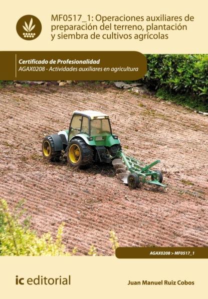Juan Manuel Ruiz Cobos Operaciones auxiliares de preparación del terreno, plantación y siembra de cultivos agrícolas. AGAX0208 juan manuel molina mengíbar electricidad electromagnetismo y electrónica aplicados al automóvil tmvg0209
