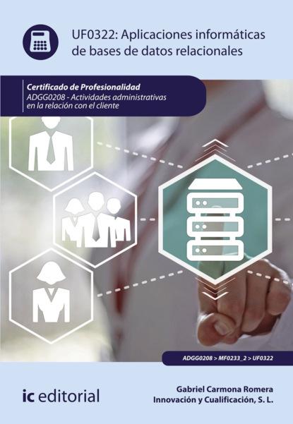 Gabriel Carmona Romera Aplicaciones informáticas de bases de datos relacionales. ADGG0208 marc romera el manual definitivo del ayuno intermitente