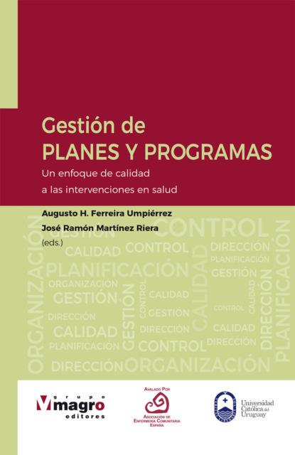 Augusto H. Ferreira Umpiérrez Gestión de planes y programas недорого