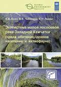 Экосистема малой лососевой реки Западной Камчатки (среда обитания, донное население и ихтиофауна)