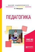 Педагогика. Учебное пособие для академического бакалавриата