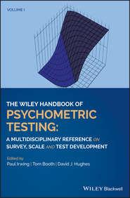 The Wiley Handbook of Psychometric Testing