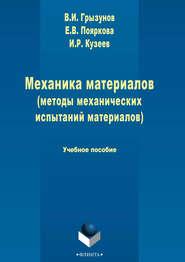 Механика материалов (методы механических испытаний материалов)