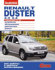 Renault Duster 4×2; 4×4 с двигателями 1,6; 2,0. Устройство, обслуживание, диагностика, ремонт. Иллюстрированное руководство